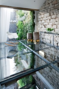 glass floor dwell
