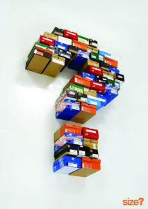 shoeboxes...