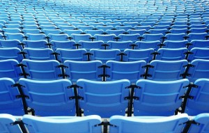 stadium chairs...