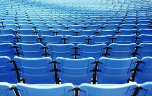 stadium chairs...