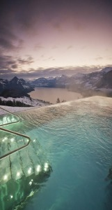 pool mountains