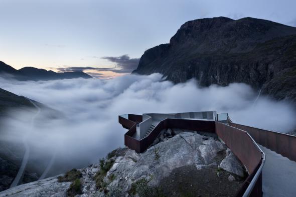 Trollstigen Visitor Centre, Møre og Romsdal, Norway