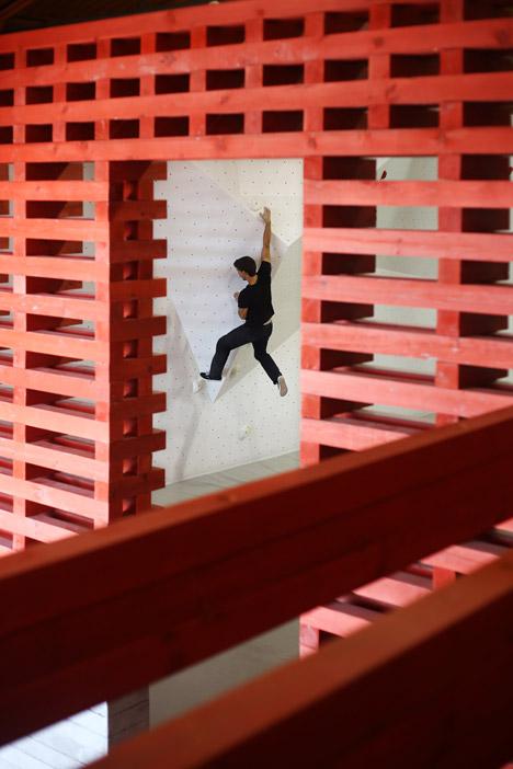 vertigo climbing cafe, lisbon, portugal/german architect tim simon with portuguese architect joão quintela