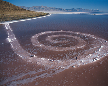 Spiral Jetty, Great Salt Lake, Utah/Robert Smithson