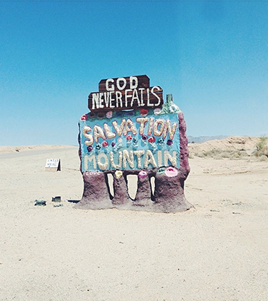 Salvation Mountain, Niland, CA/Leonard Knight