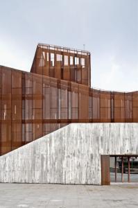 OKE, the new cultural house of Ortuella/aq4 arquitectura  1,2,3,4,5,6,7,8
