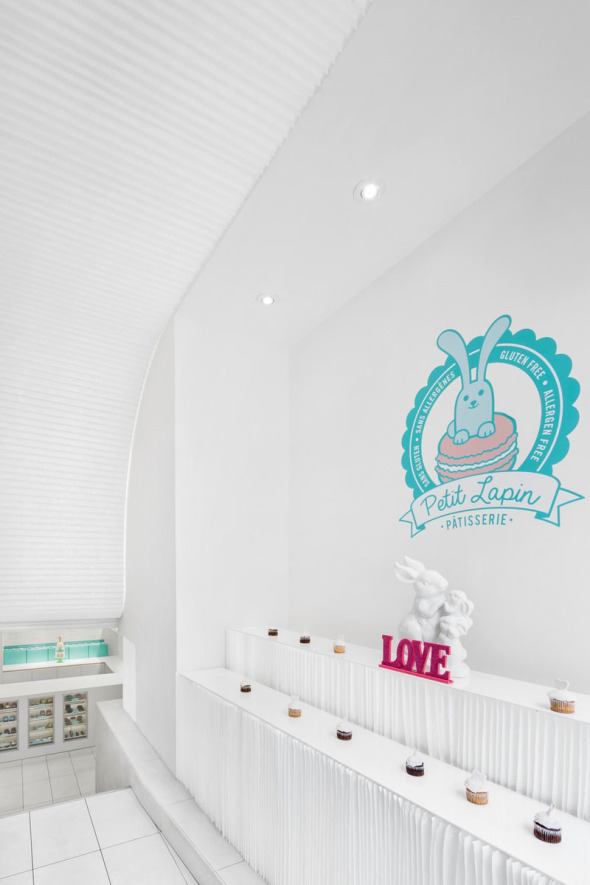 pâtisserie petit lapin, montreal/architecture open form via